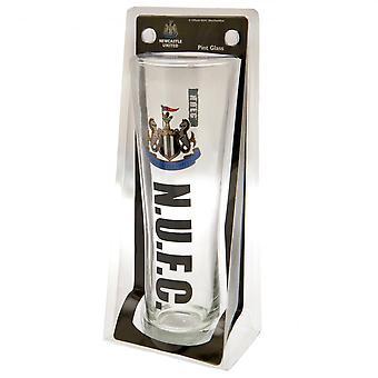 Newcastle United FC officiële hoog bierglas