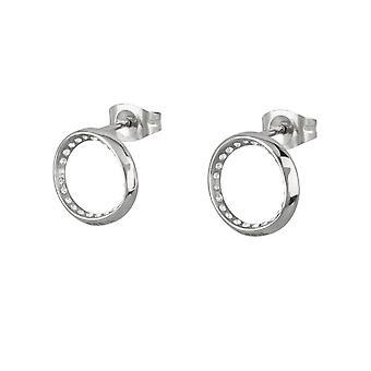 Breil Ear Rings TJ2200 - Silver Steel
