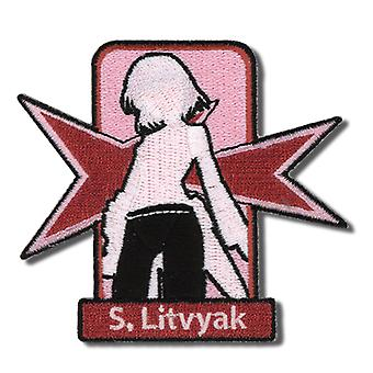 Patch - Strike Witches - S. Litvyak Silhouette - Anime - ge2111