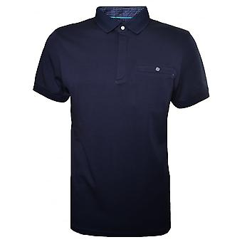 Ted Baker Men's Dark Navy Charmen Polo Shirt