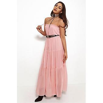 Chiffon Goddess Maxi Dress