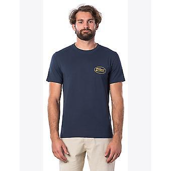 Rip Curl Aloha Zustand Kurzarm T-Shirt in Marine
