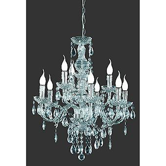 Trio Lighting L '1'4Ster Classic Transparent Clear Acryl Chandelier
