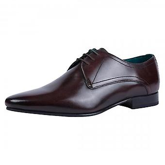Pantofi Ted Baker Bhartli Brown Din piele Derby