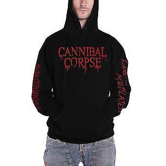 Cannibal Corpse Hoodie Tomb Of The Mutilated 2019 Official Mens Black Pullover
