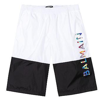 Balmain Kids Colour Block Swimshorts