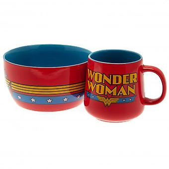 Wonder Woman Breakfast Set