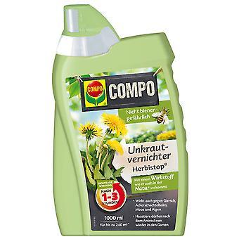 COMPO BIO Weed Killer Herbistop, 1000 ml