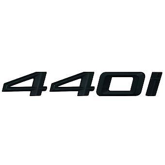 Matt Black BMW 440i Car Model Rear Boot Number Letter Sticker Decal Badge Emblem For 4 Series F32 F33 F36 G22 G23 G26