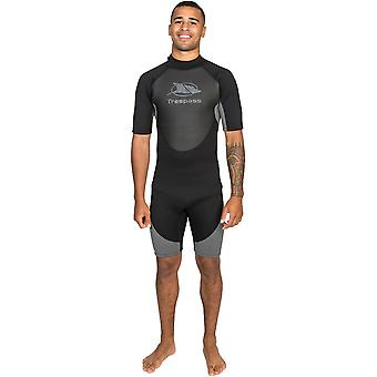 Trespass Mens Scuba 3mm Short Wetsuit