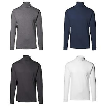ID Mens T-Time Long Sleeve Fitted Turtleneck T-Shirt