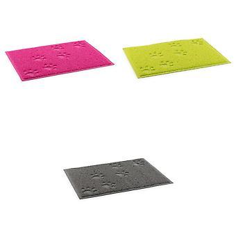 Ancol Pet Products Paw Design Non Slip Dog Feeding Mat