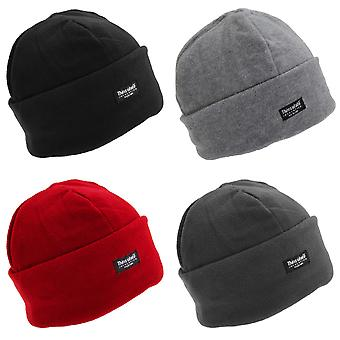 FLOSO dames/Womens Polar Fleece thermische Thinsulate Winter/Ski hoed (3M 40g)