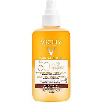 Vichy Capital Soleil Tan Amélioration de l'eau de protection solaire FPS50 200ml