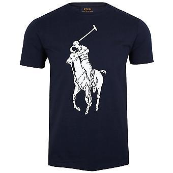 Ralph lauren men's large logo navy t-shirt