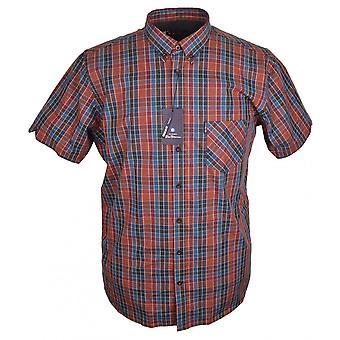 BEN SHERMAN Ben Sherman Fashion Check Short Sleeve Shirt