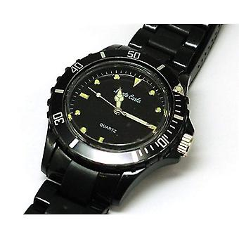 Monte Carlo Black Plastic Strap Unisex Sports Watch M2914