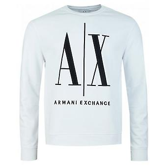 Armani Exchange Icône Crew Neck Sweatshirt Armani Exchange Icône