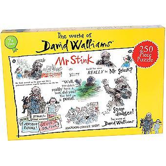 David Walliams Mr Stink 250 Piece Jigsaw Puzzle