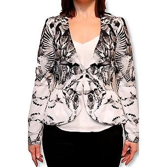 Birds of paradise blazer jacket