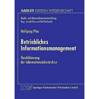 Betriebliches Informationsmanagement  Flexibilisierung der Informationsinfrastruktur by Pfau & Wolfgang