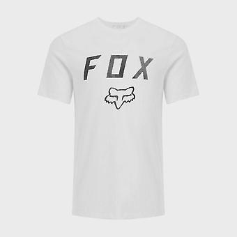 New Fox Men's Legacy Moth Short Sleeve Tee White
