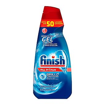 Finish Gel dishwasher detergent all in one Plus 1 L (50 Doses)