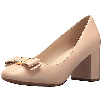 Cole Haan Womens Tali Bow Pump Leather Closed Toe Classic Pumps