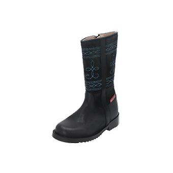 Shoesme CAMPERO Kids Girls Boots Blue Lace-Up Boots Winter