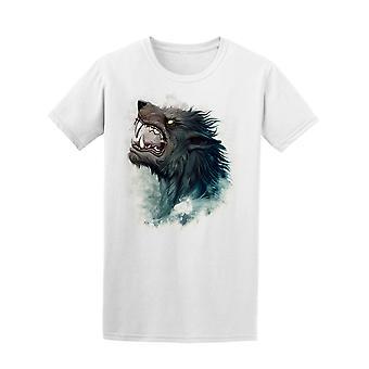 Heulender Werwolf T-Shirt Herren-Bild von Shutterstock