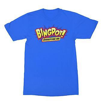 Brooklyn Ni-ni Bingpot! T-skjorte for menn&apos