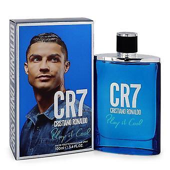 Cr7 spela det cool Eau de Toilette Spray av Cristiano Ronaldo 3,4 oz Eau de Toilette Spray