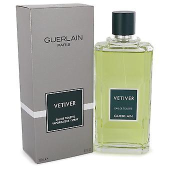Vetiver Guerlain Eau De Toilette Spray By Guerlain 6.8 oz Eau De Toilette Spray