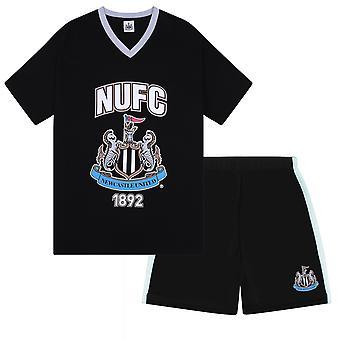 Newcastle United FC Officiel Football Gift Boys Short Pyjamas