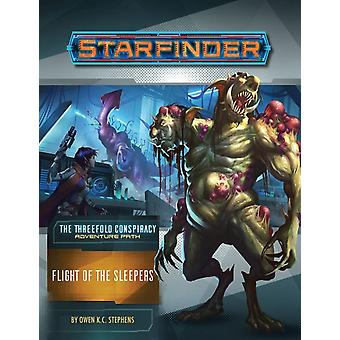 Starfinder Adventure Path Flight of the Sleepers The Three by Owen K C Stephens