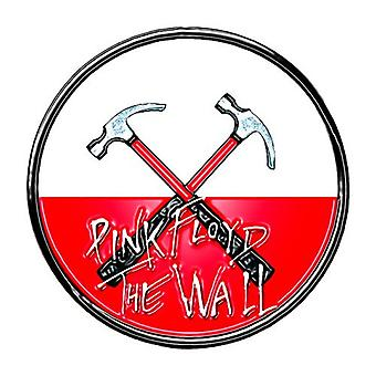 Pink Floyd The Wall Hammers Logo Official Pin Badge