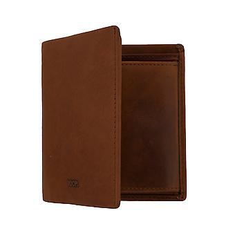 JOOP! Mænds pung tegnebog pung LORETO med RFID-chip beskyttelse Brown 7675