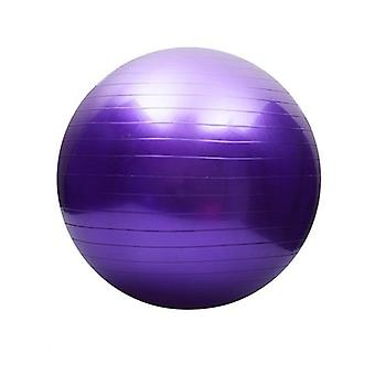 Yoga ball with air pump