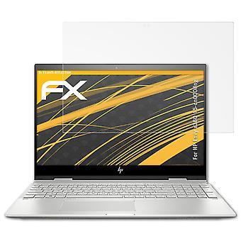 protetor de vidro atFoliX compatível com HP Envy x360 15-cn0008ng 9H Hybrid-Glass