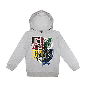 Harry Potter Hogwarts House Crests Girls Pullover Hoodie | Official Merchandise