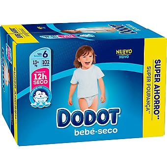 Dodot Dry Baby Box Diapers Size 6 with 102 Units (Baby & Toddler , Diapering , Diapers)