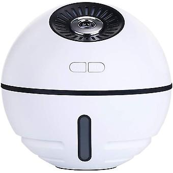 Humidifier 300ml with LED night light - white