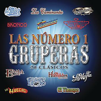 Numero 1 Gruperas: 20 Clasicos [CD] USA import