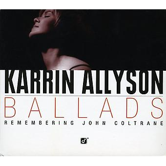 Karrin Allyson - ballades-Remembering John Coltr [CD] USA import