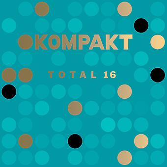 Various Artist - Kompakt Total 16 [CD] USA import