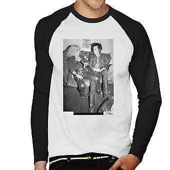 Sid Vicious et Nancy Spungen traîner de Baseball Londres 1978 masculine Long à manches longues T-Shirt