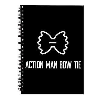 Alan Partridge Action Man Bow Tie Spiral Notebook