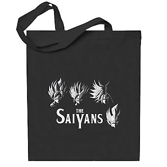 Drage ball saiyans totebag