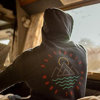 Passagier notie zip hoodie