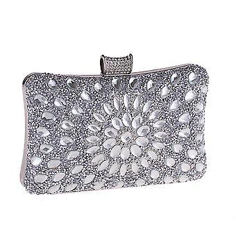 YANGFAN Eurooppa ja Amerikka Diamond Glass Drill Wild Evening Clutch Bag